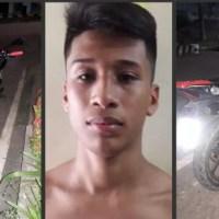MOTO É RECUPERADA 24 HORAS APÓS SER FURTADA EM PRESIDENTE FIGUEIREDO