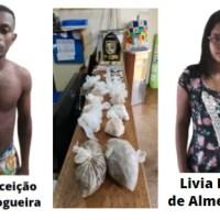 Polícia Militar prende casal com drogas em Presidente Figueiredo
