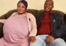 Mulher sul-africana dá à luz 10 bebês