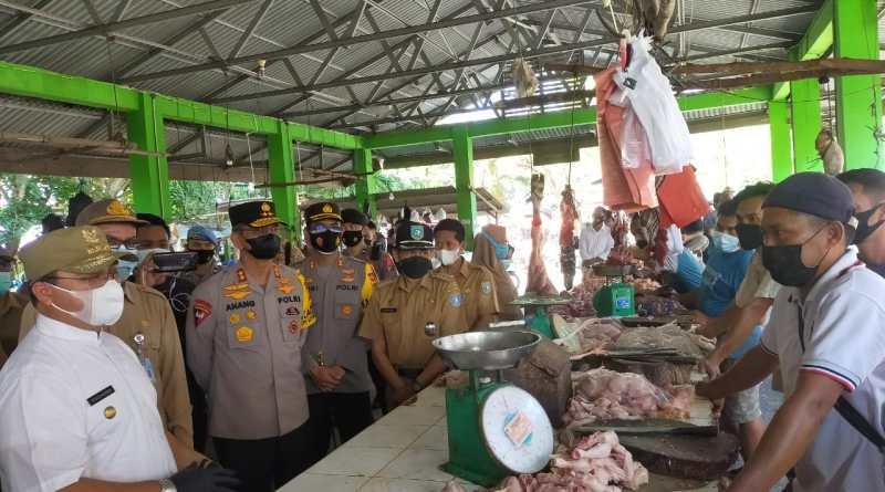 Gubernur Menilai, Harga Ayam Rp. 40 ribu di Pasar Muntok Tergolong Tinggi