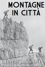 Montagne in citta 2014 - immagine dal depliant promozionale dell'iniziativa