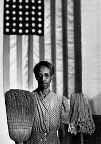 Gordon Parks, America Gothic, Ella Watson, Washington, D.C., 1942 - © The Gordon Parks Foundation