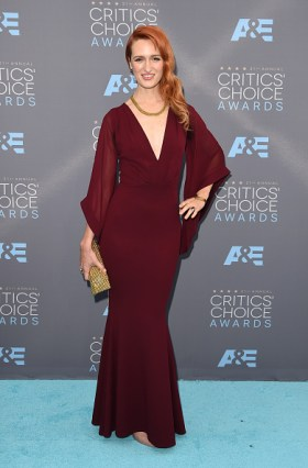 SANTA MONICA, CA - JANUARY 17: Actress Breeda Wool attends the 21st Annual Critics' Choice Awards at Barker Hangar on January 17, 2016 in Santa Monica, California. (Photo by Jason Merritt/Getty Images)