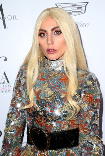 """WEST HOLLYWOOD, CA - MARCH 20: Honoree Lady Gaga attends the Daily Front Row """"Fashion Los Angeles Awards"""" at Sunset Tower Hotel on March 20, 2016 in West Hollywood, California. (Photo by Frederick M. Brown/Getty Images)"""