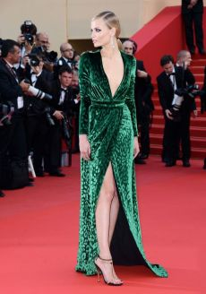 """CANNES, FRANCE - MAY 18: Anna Falchi attends the """"Madagascar 3: Europe's Most Wanted"""" Premiere during the 65th Annual Cannes Film Festival at Palais des Festivals on May 18, 2012 in Cannes, France. (Photo by Pascal Le Segretain/Getty Images for Paramount)"""