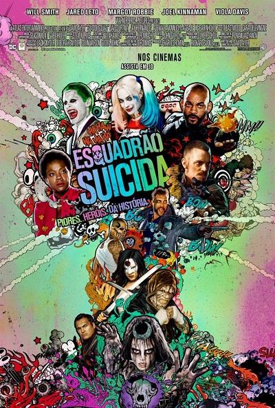 Esquadrao Suicida poster portal fama 040816