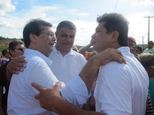 Cláudio Furtado e Francisco Duduzinho: falta prestígio junto ao Governo