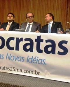 Rezende conversa com Humberto e Juscelino: DEM em São Luís