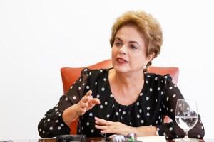 Brasília - DF, 13/04/2016. Presidenta Dilma Rousseff durante entrevista à imprensa. Foto: Roberto Stuckert Filho/PR