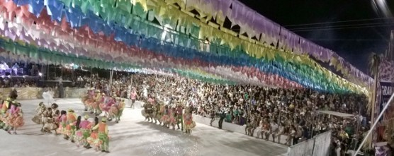 Festival de Quadrilhas realizado em Duque Bacelar