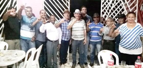 Pedetistas celebraram aliança que não deve ocorrer