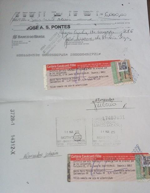Empresário da banda autenticou cópia do cheque sem fundo em cartório para se respaldar e denunciar o calote