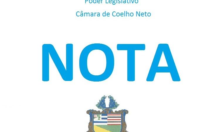 """""""Responderá na forma da Lei"""", diz nota da Câmara de Coelho Neto sobre acusação do uso indevido de diárias"""