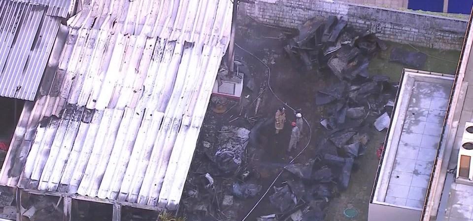 Incêndio no alojamento da categoria de base deixa mortos e feridos no CT do Flamengo
