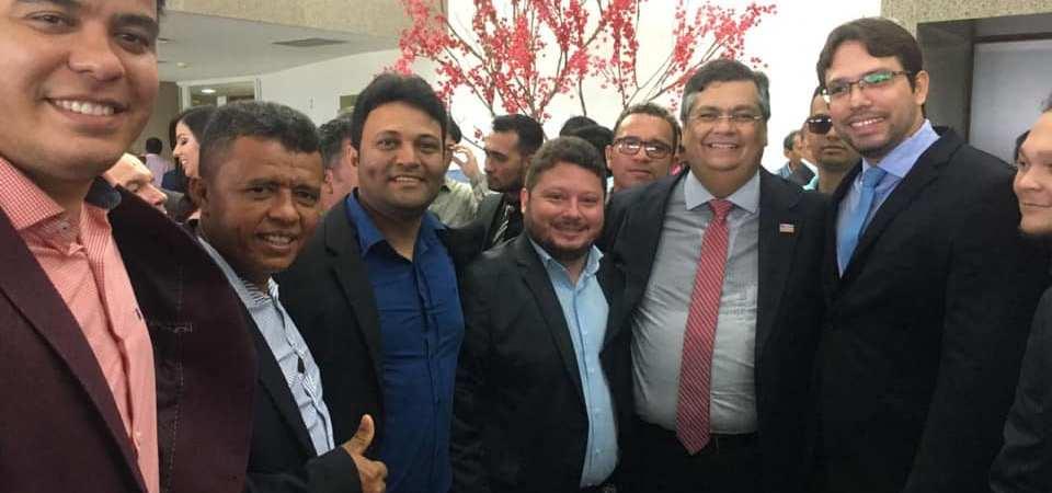 Delegação de vereadores de Coelho Neto prestigiam posse de deputados na Assembleia Legislativa