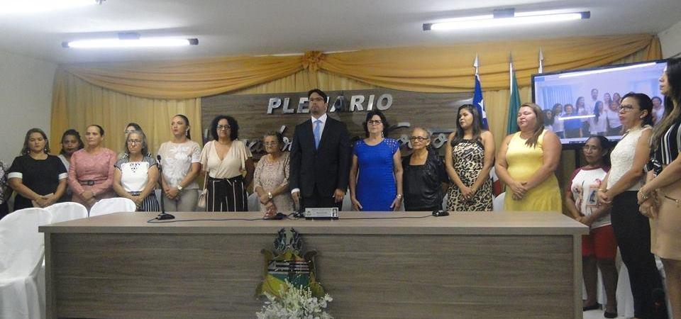 Câmara de Coelho Neto realiza Sessão Solene em homenagem ao Dia da Mulher