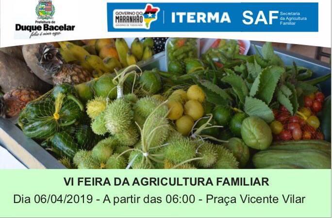 Prefeitura de Duque Bacelar fará nova edição da Feira de Agricultura Familiar