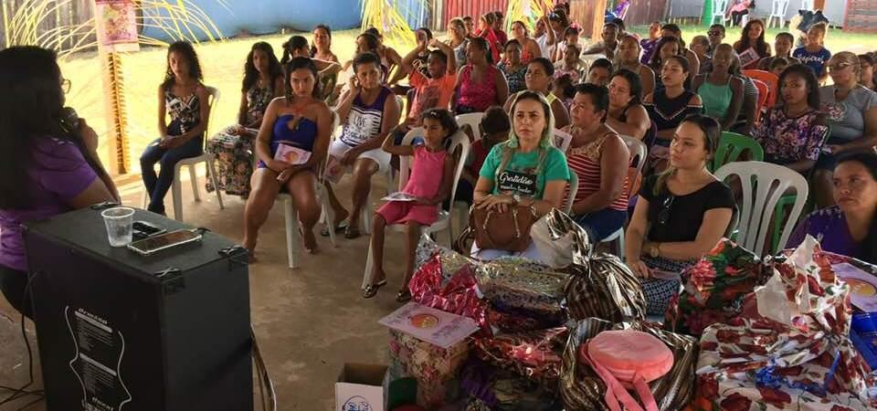 Antônio Pires e Liza Pires participam do lançamento da Marcha das Margaridas na zona rural de Coelho Neto