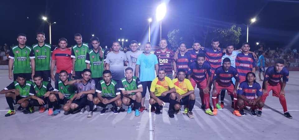 Prefeitura de Afonso Cunha promove abertura do Campeonato de Futsal