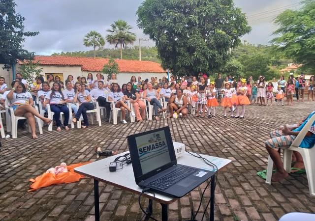 Prefeitura de Duque Bacelar realiza ação do Dia 18 de Maio; Escola Maria Vieira é premiada