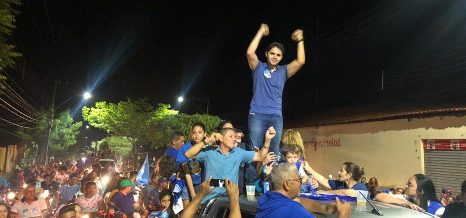 Fim da era PT: Com a maior vitória eleitoral e o mais jovem da história, Bruno Silva é o novo prefeito de Coelho Neto