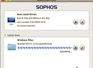 Antivírus gratuito da Sophos para Mac OS X. (Foto: Reprodução)