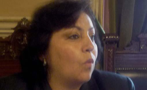 Robles Castro rechazó la invitación del Verde para unirse a su grupo parlamentario
