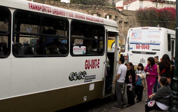 El transporte público; un viaje que incluye de todo