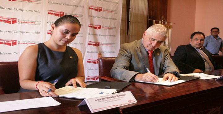 Firman convenio de colaboración a favor del medio ambiente