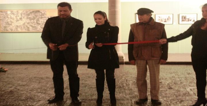 "Inauguran exposición ""Guanajuato de Plata"""
