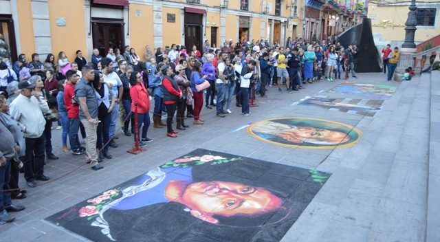 """Participarán 58 personas en el Madonnari """"Los colores del mestizaje, México y sus tradiciones"""""""