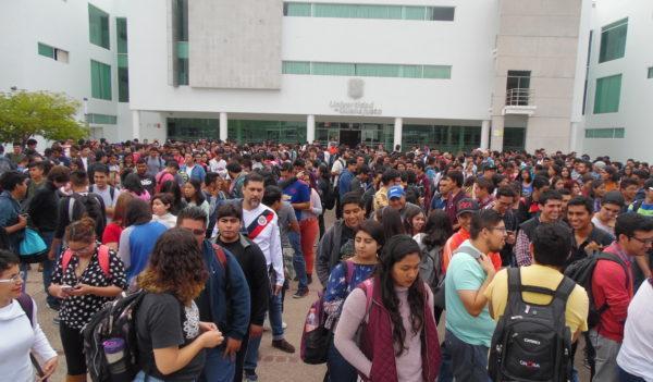 Realizan simulacros en Campus Guanajuato e Irapuato-Salamanca de la UG