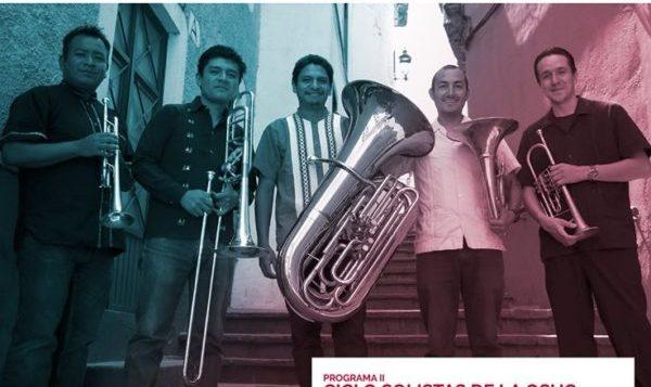"""El quinteto """"Vientos del Bajío"""" se presentará en el ciclo """"Solistas de la OSUG"""