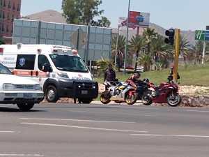 Derrapa Motociclista En Glorieta Santa Fe Portalguanajuato Mx