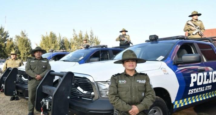 Reconocen labor de la policía rural de Guanajuato