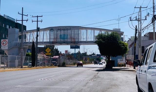 Vandalizan puente UDL; llaman a la ciudadanía a cuidar de los espacios públicos