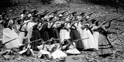 Estampas de la Revolución Mexicana en la ciudad de Guanajuato