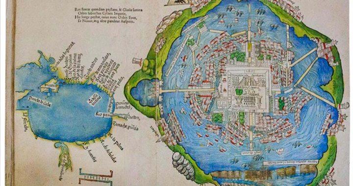 Mapa de Tenochtitlan que conquistó Europa: tesoro iluminado de la Newberry Library*