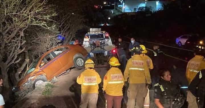 Un lesionado en choque entre vehículos