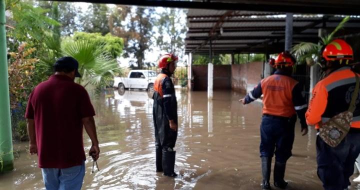 Son mil familias las afectadas por las inundaciones en Abasolo
