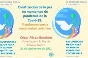 Realiza UG el Ideatón por la Paz: Recuperarse mejor para un mundo equitativo y sostenible