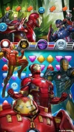 Marvel Puzzle Quest Civil War Android