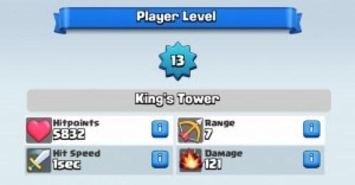 clash royale rango torre