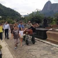 Corpo de Mauricio Torres foi enterrado neste domingo (01)