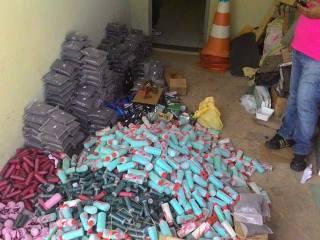 Polícia deflagra operação prende três e recupera munição ilegal na região de Oeiras 2