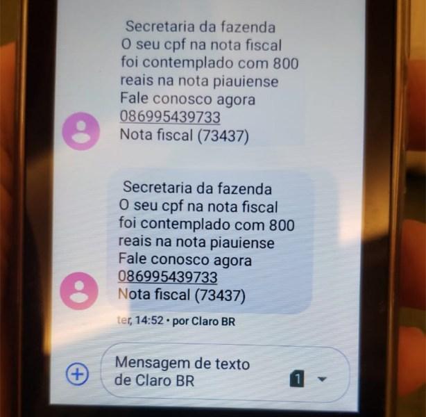 Operação prende quatro suspeitos de aplicar golpe milionário com a Nota Piauiense 2
