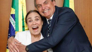 Regina Duarte se manifesta a favor de Bolsonaro sobre a quarentena 6