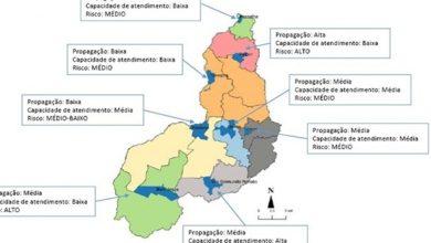 Regiões com maior risco epidemiológico para contaminação de Covid-19 possuem menor capacidade de atendimento no Piauí 16
