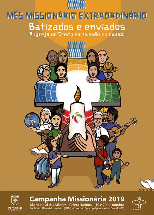 Cartaz da Campanha Missionária 2019