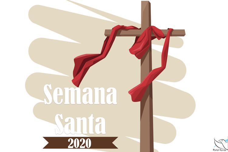 Que dia começa a Semana Santa 2020?